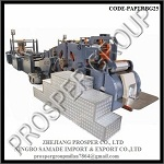 High Speed Roll Fed Paper Bag Machine