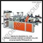 Computer Control High-Speed Rolling Bag Making Machine (Double Layer )
